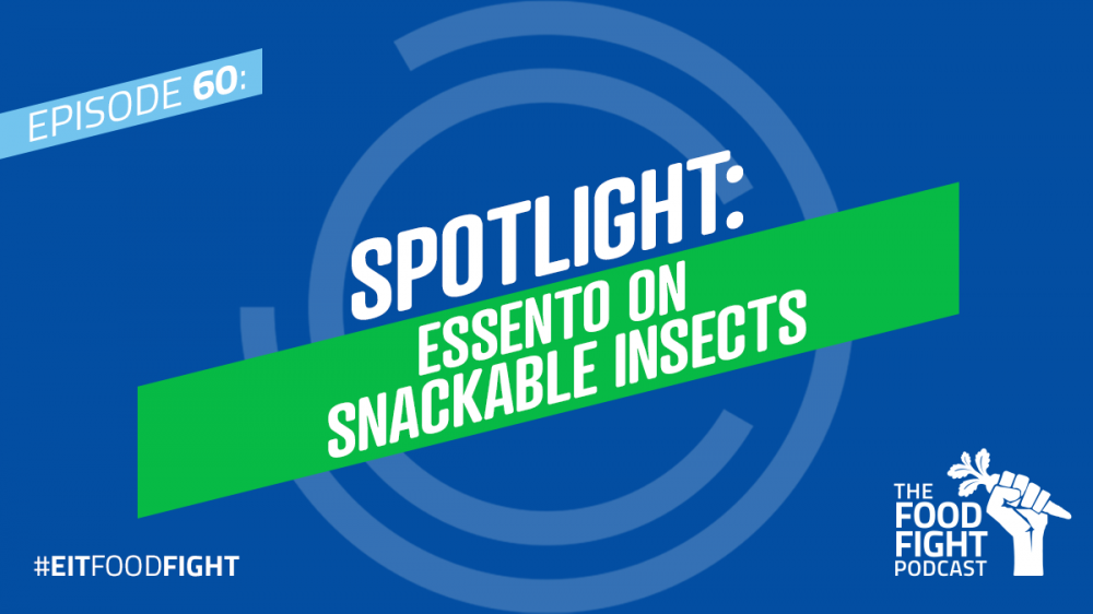 Spotlight: Essento on snackable insects